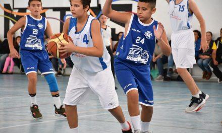 Esta última jornada, el Colegio Virgen del Mar volvió a llenar las canchas de basket y público