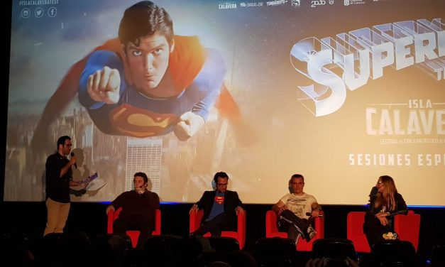 """""""Superman"""" sobrevuela Tenerife  con Festival Isla Calavera"""