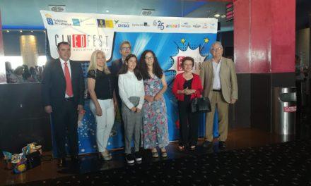 El Colegio Virgen del Mar estará este domingo 21 en el programa especial de Televisión Canaria por suPrimer Premio de Corto Animado Cinedfest
