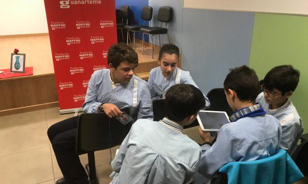 Los alumnos de 1º y 4º de ESO reciben un taller sobre economía familiar, ofrecido porFundación MAPFRE