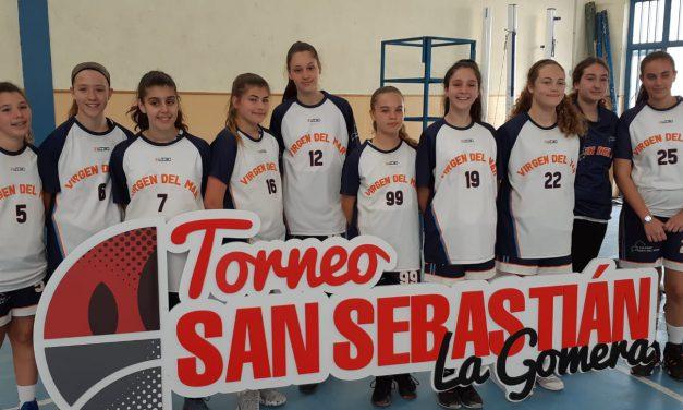 Las Infantiles del CB. Colegio Virgen del Mar se llevan el Tercer Puesto en el «Torneo San Sebastián de La Gomera 2020»