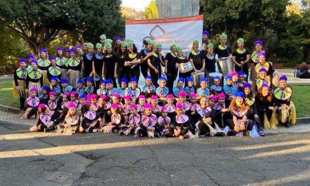 Especial Carnaval 2020: El Grupo de Danza y la Batucada del Colegio Virgen del Mar participan en el «Coso Infantil» del Carnaval de Santa Cruz