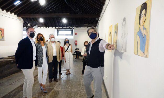 Inauguración de la Exposición en Los Lavaderos