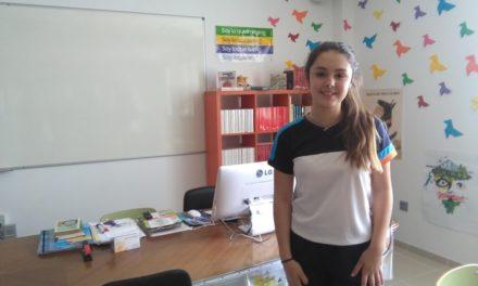 Claudia Jiménez Brito, alumna de 2º ESO-A, Premio Coca-Cola 2018