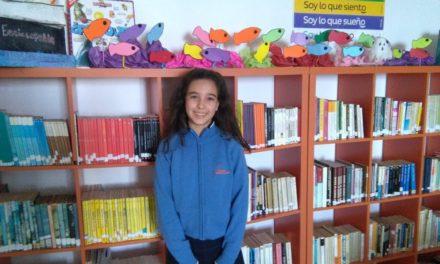"""Miriam Gutiérrez Arzola, alumna de 6º de Primaria C, Premio de Redacción """"Conoce nuestro Puerto"""""""