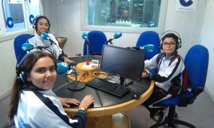 Un día en los Medios de Comunicación: 1º ESO en Directo desde COPE CANARIAS