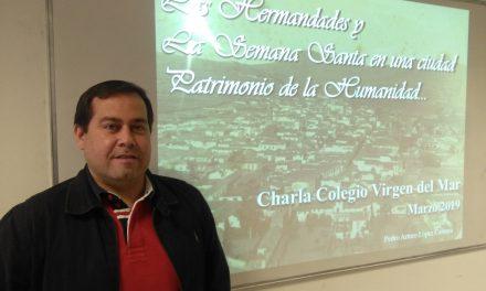 """ESPECIAL SEMANA SANTA 2019: Pedro López, miembro de la Junta de Hermandades y Cofradías de San Cristóbal de La Laguna: """"La Laguna es uno de los mayores museos de arte sacro de España"""""""