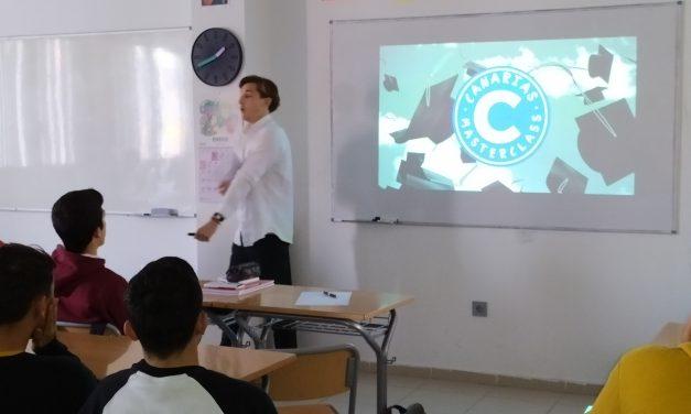 Canarias Masterclass visita el Colegio Virgen del Mar
