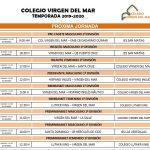 El CB. Colegio Virgen del Mar se enfrenta a otra nueva jornada