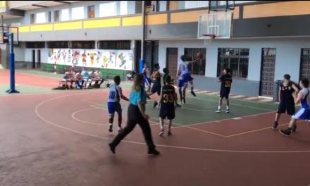 El Infantil del CB. Colegio Virgen del Mar jugó con cabeza y consiguió ganar frente al CB. Granadilla: 60-46