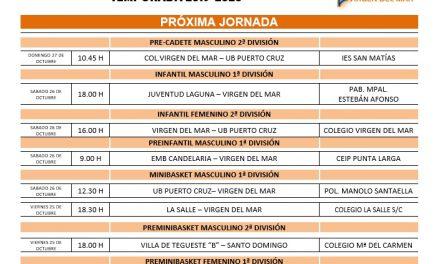 El CB. Colegio Virgen del Mar afronta su segunda jornada con ímpetu
