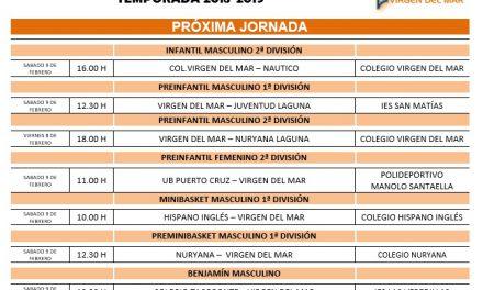 Agenda de la Jornada 18 del CB. Colegio Virgen del Mar