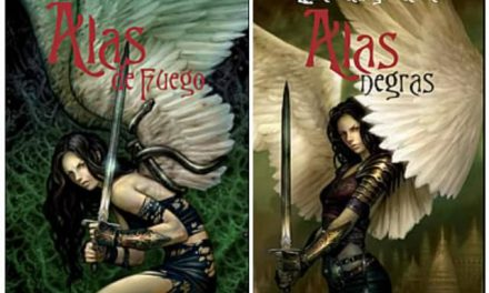 «Alas de fuego» y «Alas negras», dos historia noveladas por Laura Gallego