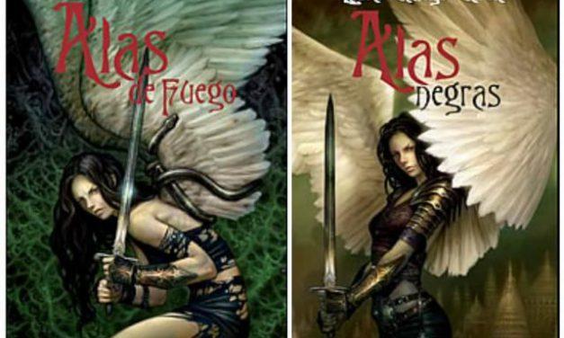 """""""Alas de fuego"""" y """"Alas negras"""", dos historia noveladas por Laura Gallego"""
