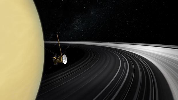 ¡Saturno no siempre tuvo anillos!