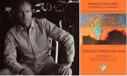Exposición Virtual «Manolo Millares-Visión de las Islas Canarias», organizada por el área de Educación Plástica, Visual y Audiovisual del Colegio Virgen del Mar