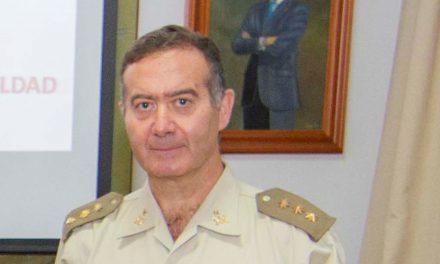 """Luis Antonio Martínez Gimeno, Coronel Subdelegado en Santa Cruz de Tenerife:  """"Un país es tan seguro como preparadas están sus Fuerzas Armadas en la protección de valores como la libertad, justicia, igualdad, pluralidad y respeto a los derechos humanos"""""""