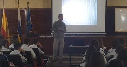 """David González de León, alumno de 2º Curso de Técnico Superioren Gestión Forestal y del Medio Natural: """"El mundo agrícola es esencial para nuestro futuro"""""""