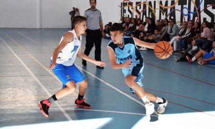 Edgar Duque Negrín, alumno de 4ºESO y ex jugador del Colegio Virgen del Mar