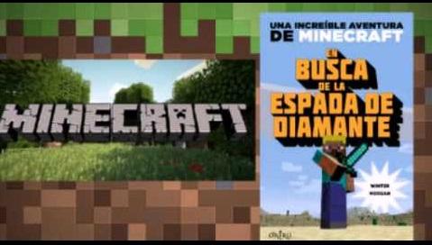 """""""En busca de la espada de diamante"""", un gran título de Minecraft"""
