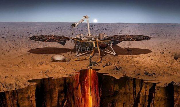 La nave InSight nos revelará la posibilidad de vida en Marte