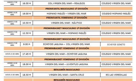 Este sábado el CB Colegio Virgen del Mar vuelve a la cancha