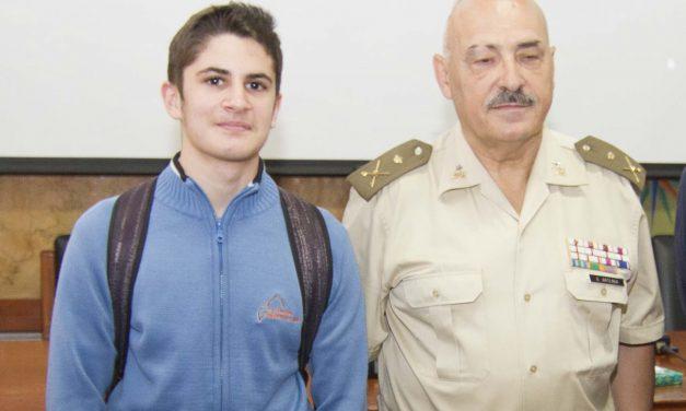José María Frías, alumno de 4º ESO-B, obtiene el segundo finalista provincial en «Carta a un militar español»