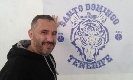 """Jota Cuspinera: """"Veo auténtica pasión por el básket en los chicos del Colegio Virgen del Mar-Santo Domingo"""""""