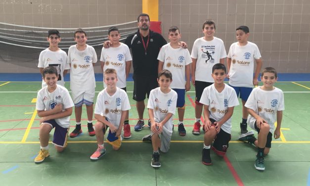 El Colegio Virgen del Mar mantuvo una sesión de entrenamiento con Jou Costa, Coordinador del CB Canarias