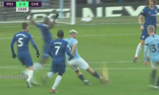 """Manchester City golea al Chelsea por 6-0, con """"hat-trick"""" del Kun Agüero"""