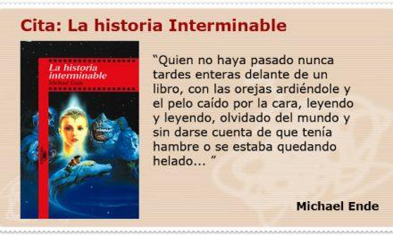 """""""La Historia Interminable"""", un libro para leer"""