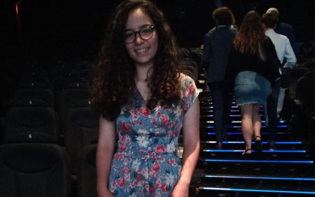 Lucía Alonso Eiras, alumna de 3º de la ESO del Colegio Virgen del Mar, Primer Premio de Corto Animado Cinedfest