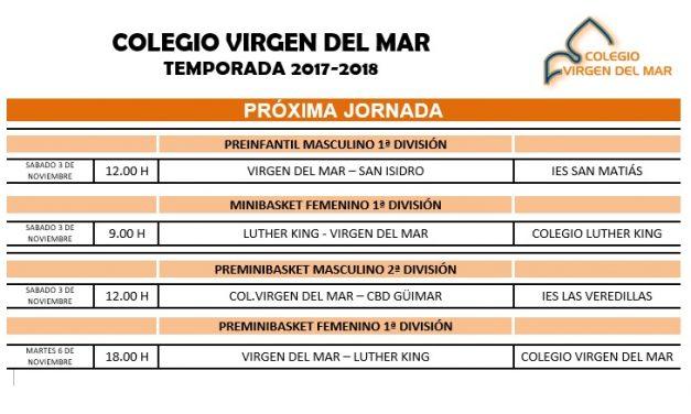 El Colegio Virgen del Mar acoge la tercera jornada de esta temporada