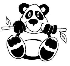 Panda, by Sara Bernal del Real, 5º Primaria-B