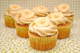 Cupcakes de plátano