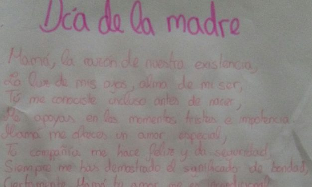«Día de la Madre en poesía», por los alumnos de 1º ESO-A