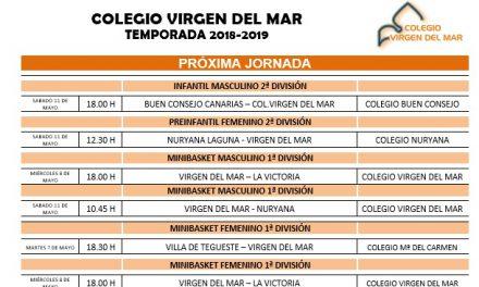 El CB. Colegio Virgen del Mar afronta ya los últimos coletazos de la temporada