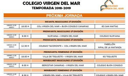 CB Colegio Virgen del Mar prepara una nueva jornada este fin de semana