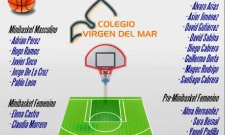 19 jugadores del CB Colegio Virgen del Mar, convocados a la Preselección Canaria 2019