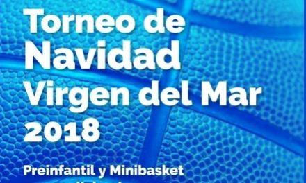 CB Colegio Virgen del Mar celebra su «Torneo de Navidad 2018» el viernes 21 y sábado 22